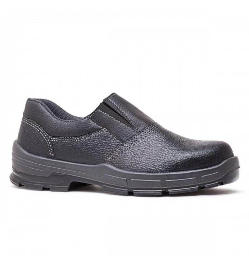 Sapato Bracol Preto Elástico sem Bico
