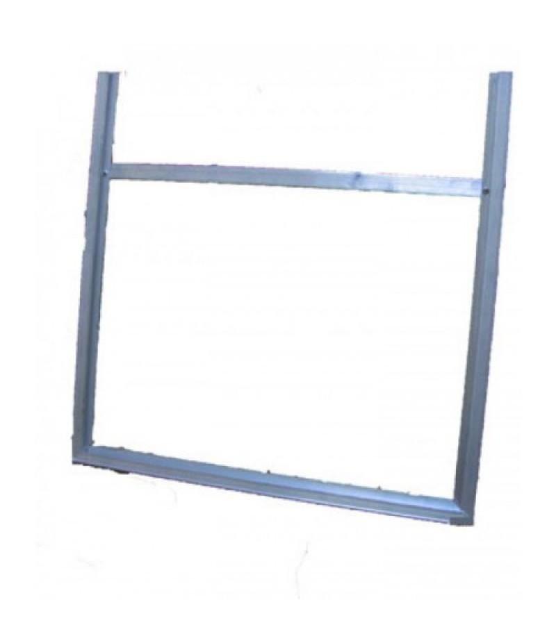 Suporte de Alumínio para placa de Simbologia Disponível em 2 tamanhos
