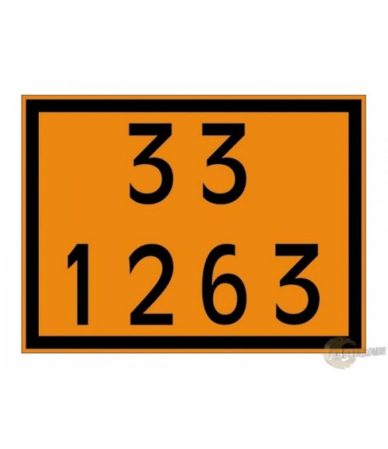 Painel de Segurança em Poliestireno  (PVC) 33 1263