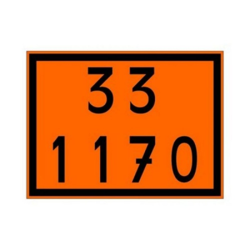 Painel de Segurança Laranja Adesivo 33 1170