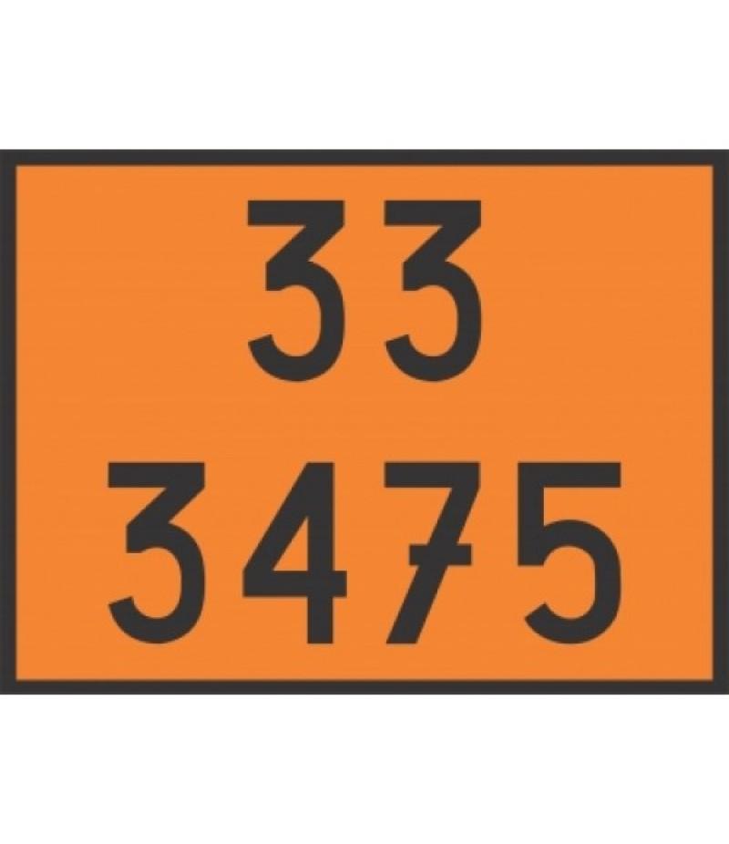 Painel de Segurança em Poliestireno  (PVC) 33 3475
