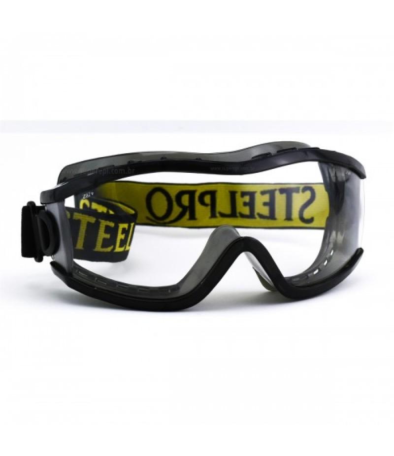 Óculos Ampla Visão Everest Cinza/Incolor