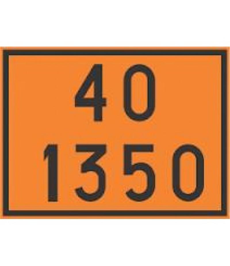 Painel de Segurança em Poliestireno  (PVC) 40 1350
