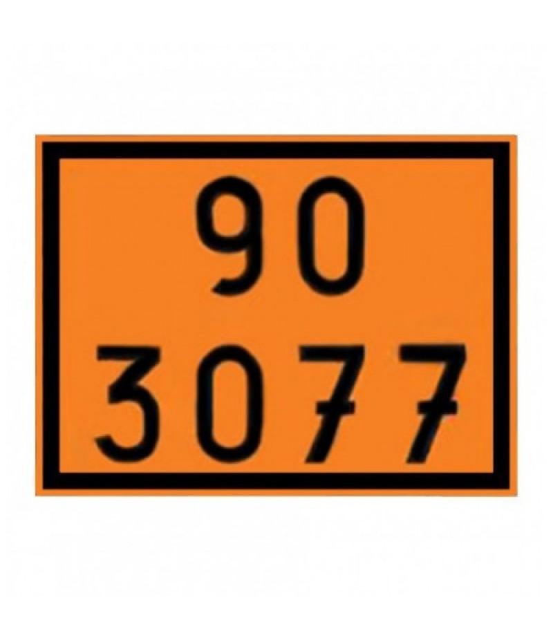 Painel de Segurança em Poliestireno  (PVC) 90 3077