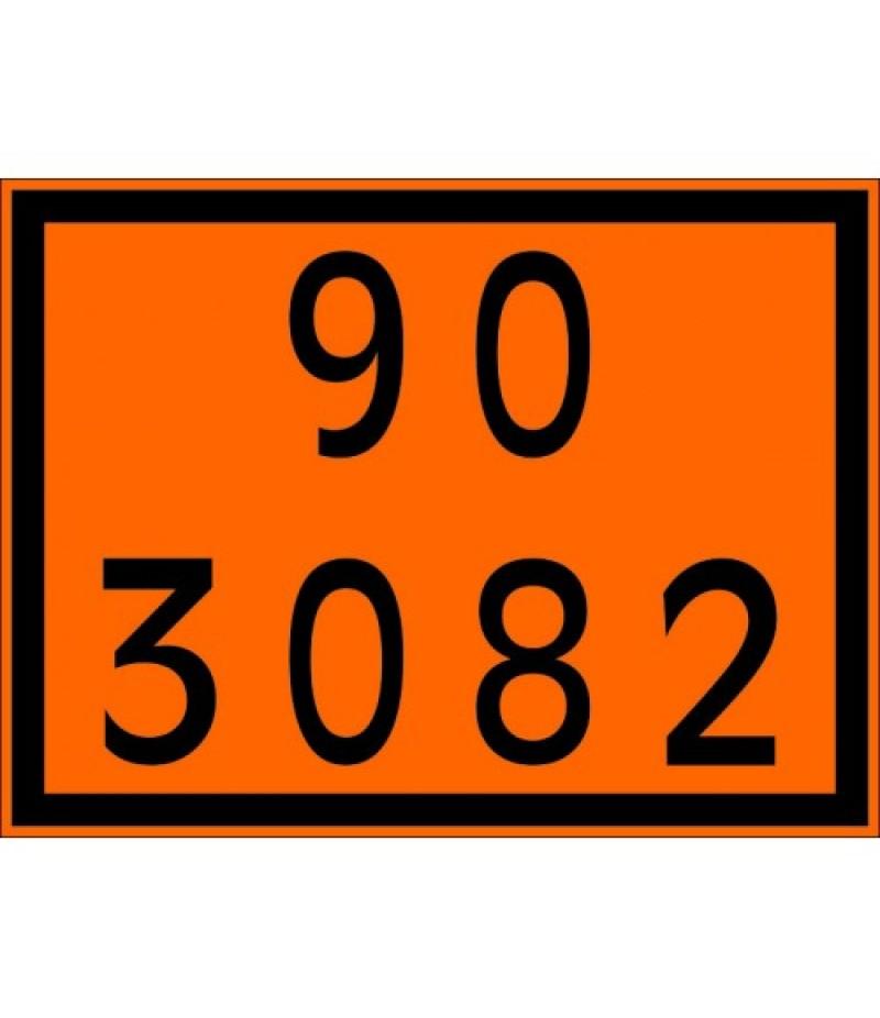 Painel de Segurança em Poliestireno  (PVC)90 3082