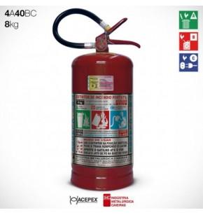 Extintor Pó ABC 8 quilos