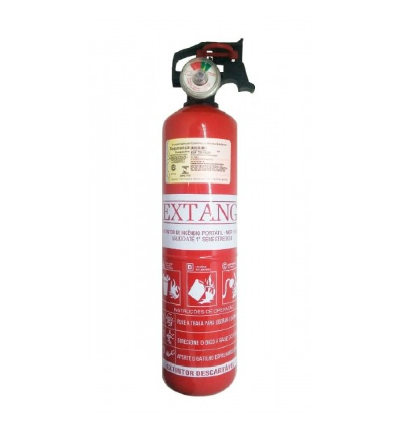 Extintor Portátil  ABC 1 quilo