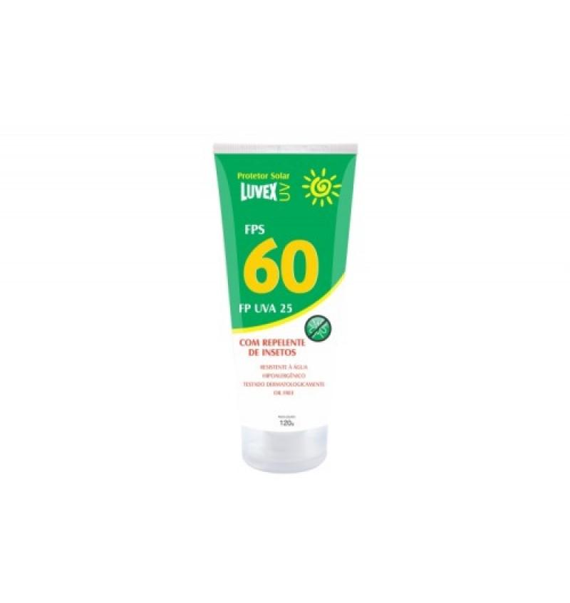 Protetor Solar Luvex UV FPS 60 com Repelente de Insetos