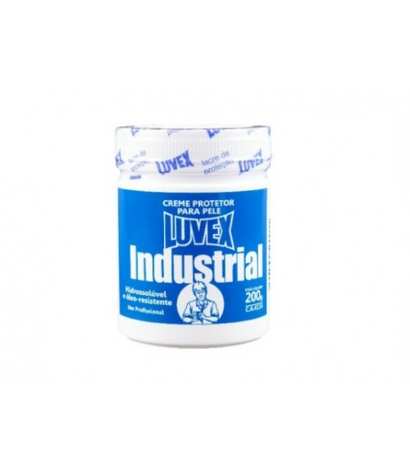 Creme de Proteção Luvex Industrial - Pote 200g