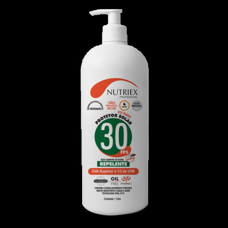 Protetor Solar c/ Repelente 1 litro (FPS 30)
