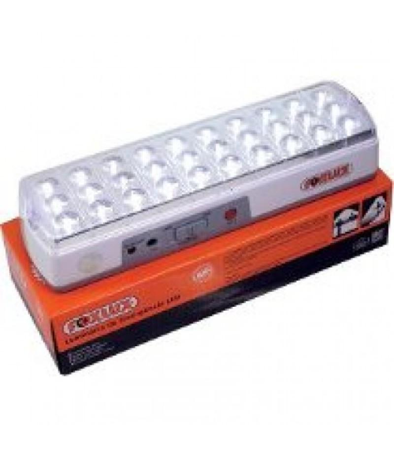 Luminária de Emergência 30 LEDs com regulagem Foxlux
