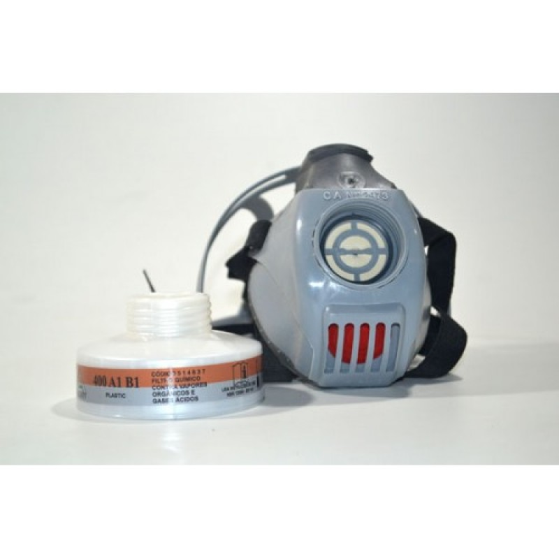 Mascara AirSan com filtro 400 A1 B1