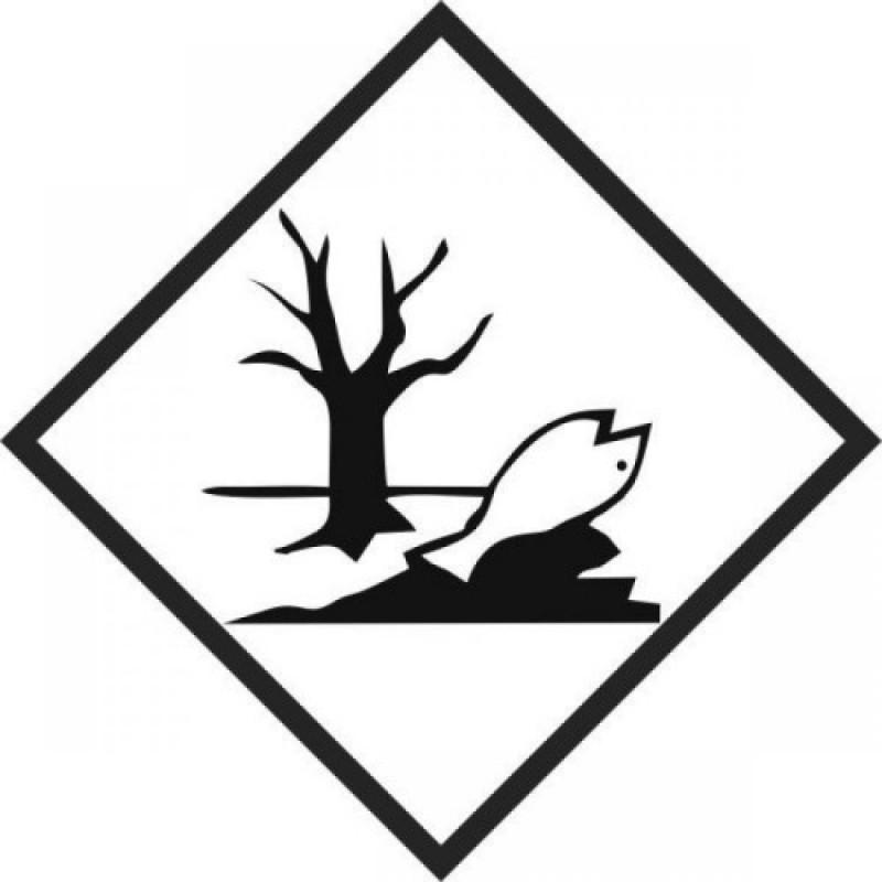 Rótulo de Risco  PVC Meio Ambiente